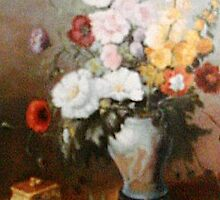 Florals,  after old Masters 1700's by Cathy Amendola