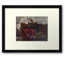 My 1988 portfolio-title place. Framed Print