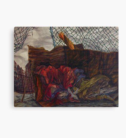 My 1988 portfolio-title place. Canvas Print