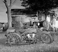 1926 Harley Davidson by Paul Redding