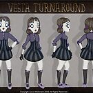Vesta Turnaround by Laura McDonald
