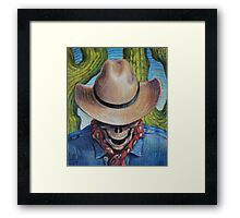 Goodbye Cowboy Framed Print