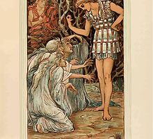A Wonder Book for Girls and Boys by Nathaniel Hawthorne illustrated by Walter Crane 43 - Perseus and the Graif by wetdryvac