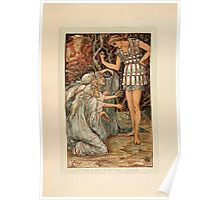 A Wonder Book for Girls and Boys by Nathaniel Hawthorne illustrated by Walter Crane 43 - Perseus and the Graif Poster