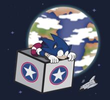 Hedgehogs in Space Kids Clothes