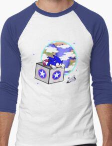 Hedgehogs in Space Men's Baseball ¾ T-Shirt