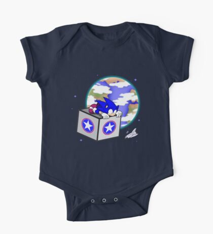 Hedgehogs in Space One Piece - Short Sleeve