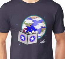Hedgehogs in Space Unisex T-Shirt