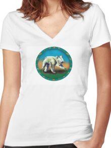 Koala Women's Fitted V-Neck T-Shirt