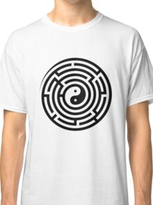 Finding Balance (Black on White/Colour) Classic T-Shirt