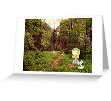 Greeting Card Alice in Wonderland Greeting Card