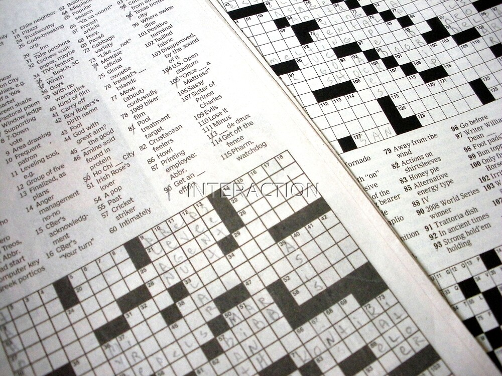 Crossword  by INTERACTION