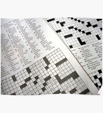 Crossword  Poster
