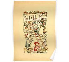 The Golden Primer by John Miller Dow, Illustrated by Walter Crane 1884 5 - Title Plate Poster
