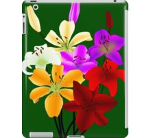 It's a beautiful IRIS world! iPad Case/Skin