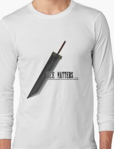 Size matters Long Sleeve T-Shirt