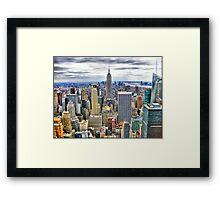 Buildings of New York Framed Print