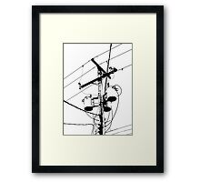 Skylines II Framed Print