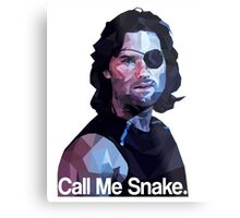 Call me snake. Metal Print