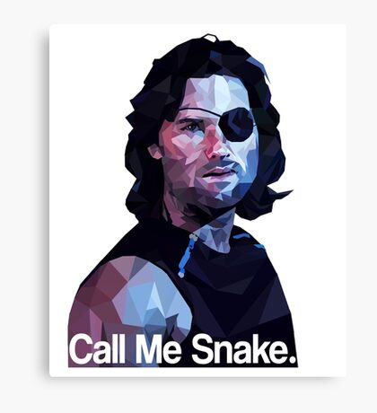Call me snake. Canvas Print