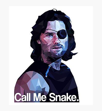 Call me snake. Photographic Print