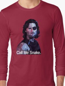 Call me snake. Long Sleeve T-Shirt