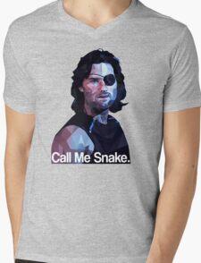 Call me snake. Mens V-Neck T-Shirt