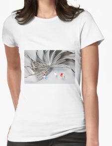 Chef And Forks Womens Fitted T-Shirt