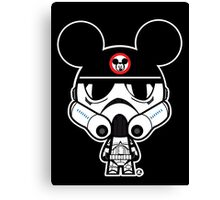 Stormtrooper Mickey Canvas Print
