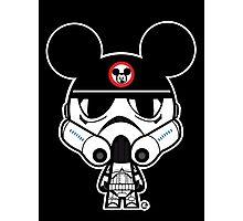Stormtrooper Mickey Photographic Print