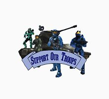 Support Our Troops - Blue Team Unisex T-Shirt