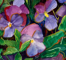 Violettes by jimmie