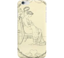 The Buckle My Shoe Picture Book by Walter Crane 1910 60 - Mid Plate iPhone Case/Skin