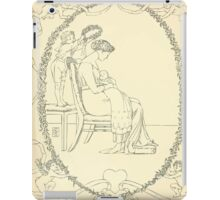 The Buckle My Shoe Picture Book by Walter Crane 1910 60 - Mid Plate iPad Case/Skin