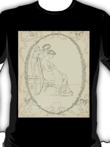 The Buckle My Shoe Picture Book by Walter Crane 1910 60 - Mid Plate T-Shirt