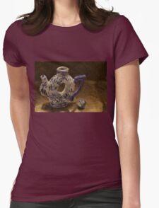 Dutch Teapot Womens Fitted T-Shirt