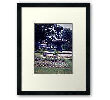 Fountain of love Framed Print