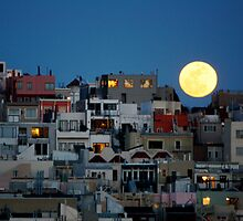 Full Moon Rising by kellinasf