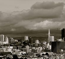 Rainy Day in San Francisco by kellinasf