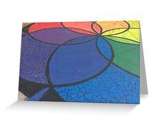 Rainbow Mandala II Greeting Card