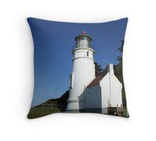 Heceta Head Light House Throw Pillow