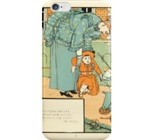 The Buckle My Shoe Picture Book by Walter Crane 1910 71 - Who Ran to Help Me When I Fell iPhone Case/Skin