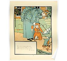 The Buckle My Shoe Picture Book by Walter Crane 1910 71 - Who Ran to Help Me When I Fell Poster