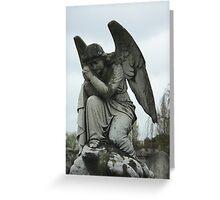 Grave Angel Greeting Card