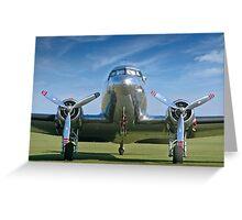 DC3 at Duxford Greeting Card