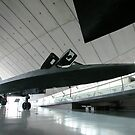 SR-71A Blackbird at Duxford by Geoff Spivey