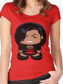 Renaissance O'bamabot Toy Robot 1.0 Women's Fitted Scoop T-Shirt