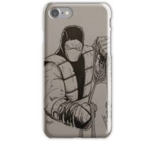 Hells Ninja iPhone Case/Skin