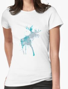 Moody Moose Womens Fitted T-Shirt