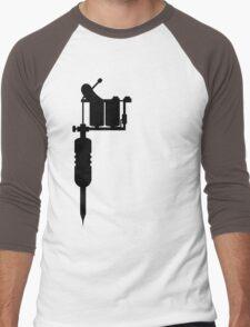 tattoo gun Men's Baseball ¾ T-Shirt